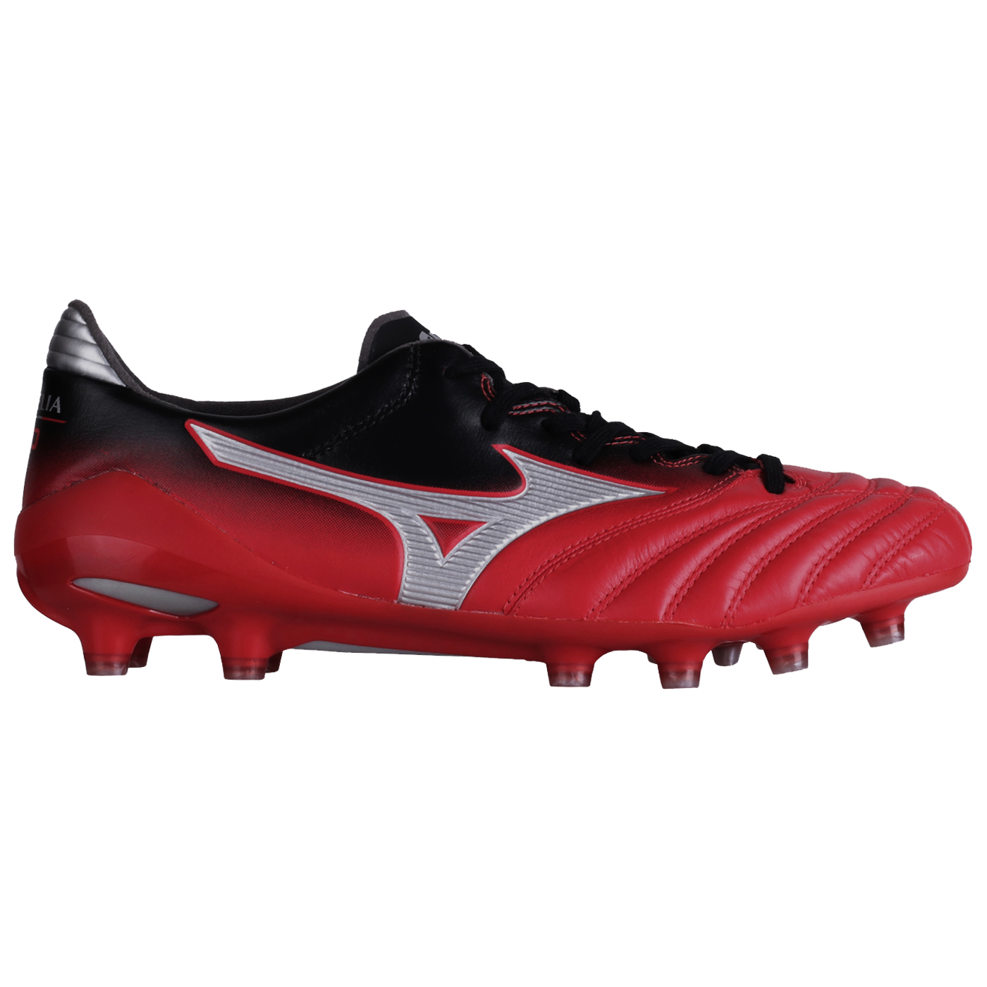 MORELIA NEO II (MD) - CHINESE RED/ SILVER/ BLACK