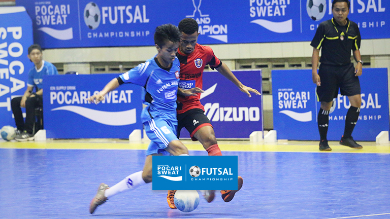 BANDUNG HOSTS THE GRAND CHAMPION POCARI SWEAT FUTSAL CHAMPIONSHIP 2016 EVENT