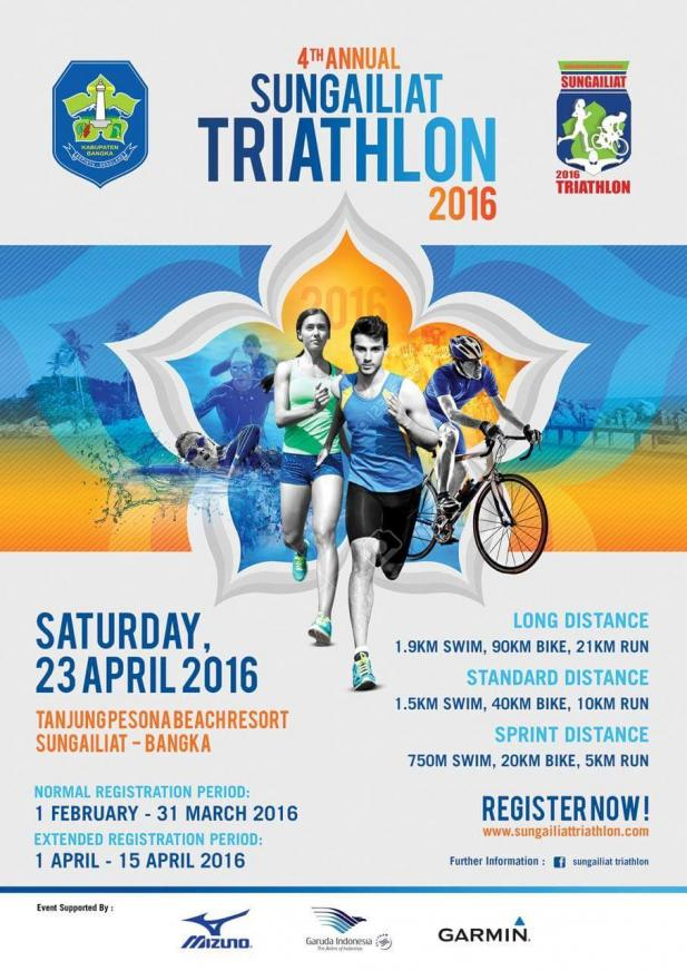 Mizuno Sponsors Sungailiat Triathlon 2016