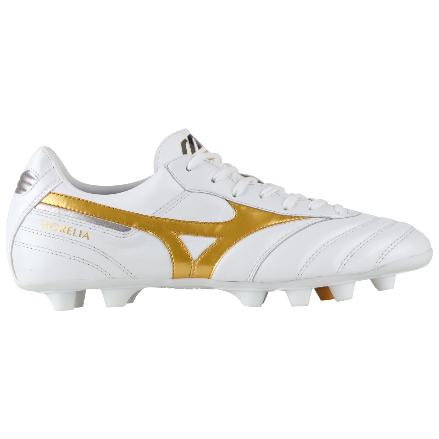 MORELIA II ELITE - WHITE/GOLD/