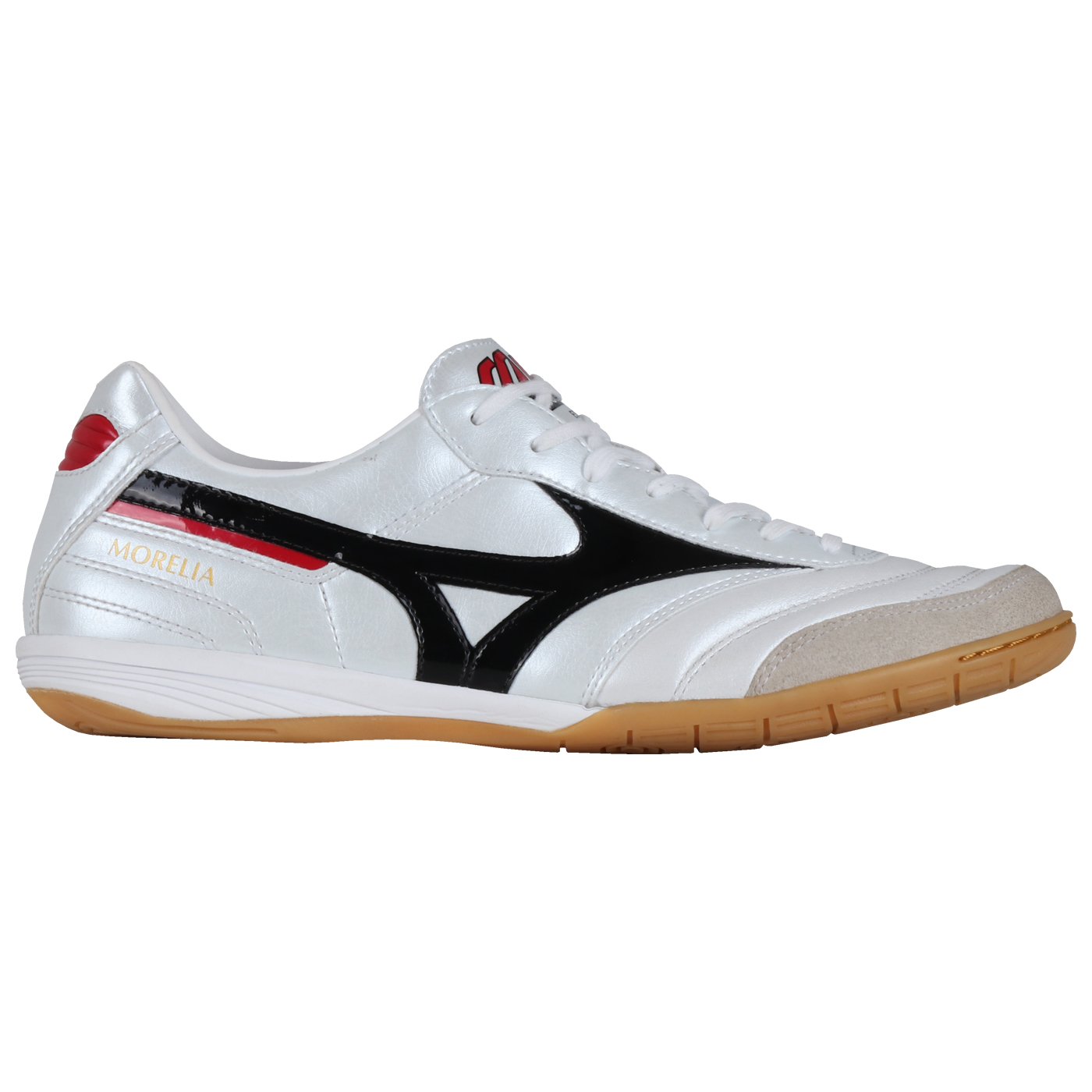 MORELIA IN - WHITE/BLACK/CHINESE RED
