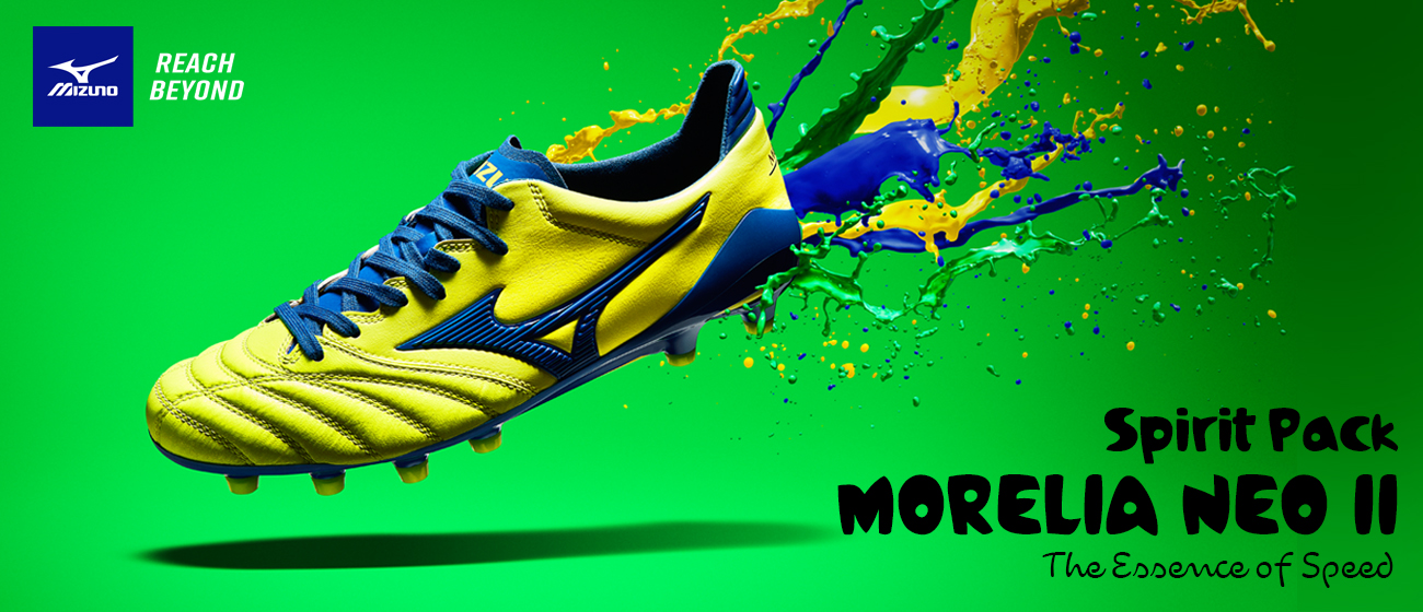 MORELIA NEO II MD - SAFETY YELLOW/TRUE BLUE