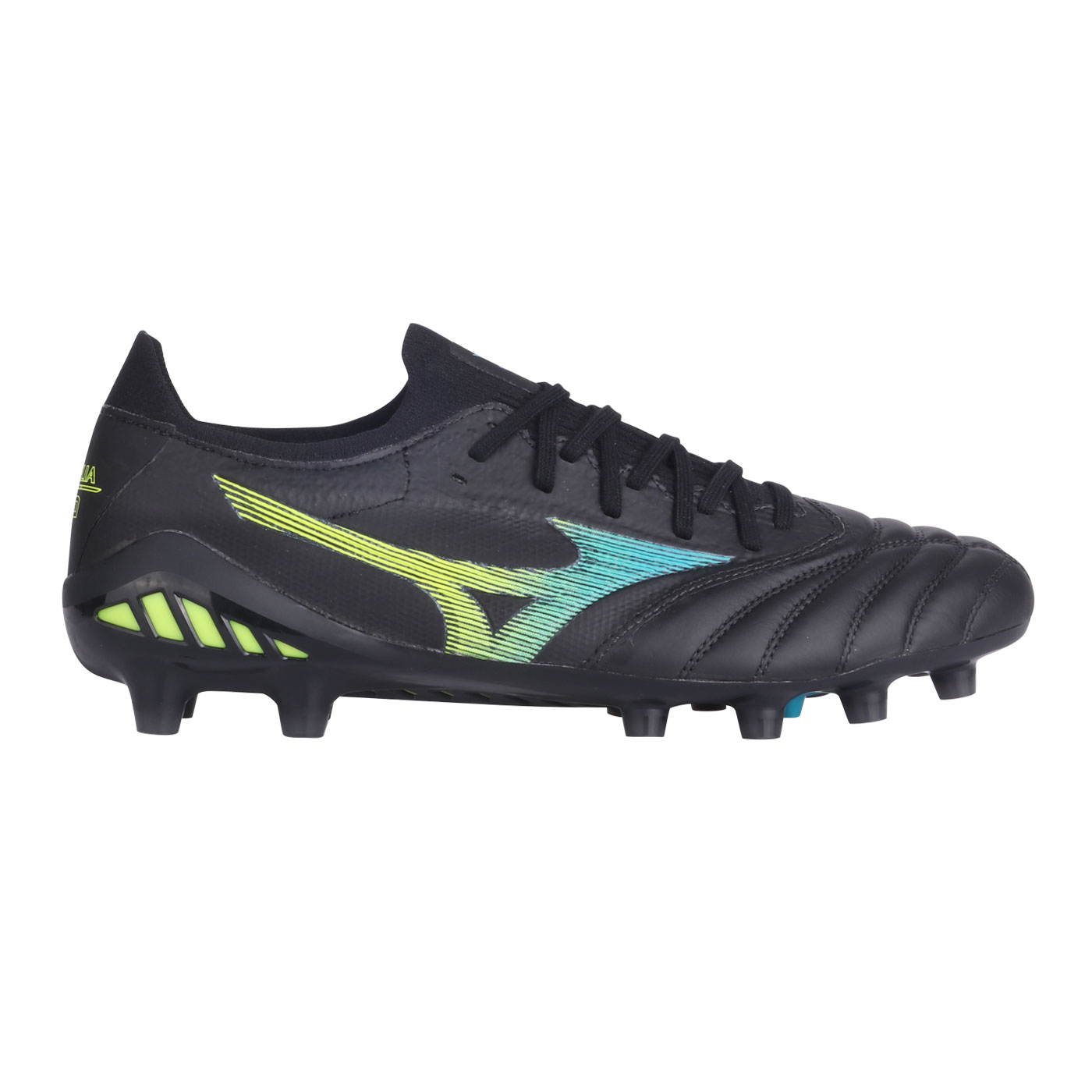 MORELIA NEO III BETA ELITE-BLACK/BLUE ATOLL