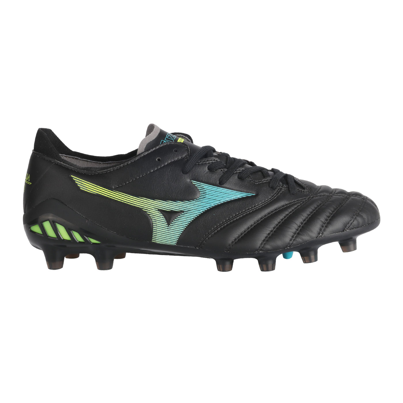 MORELIA NEO III ELITE-BLACK/BLUE ATOLL