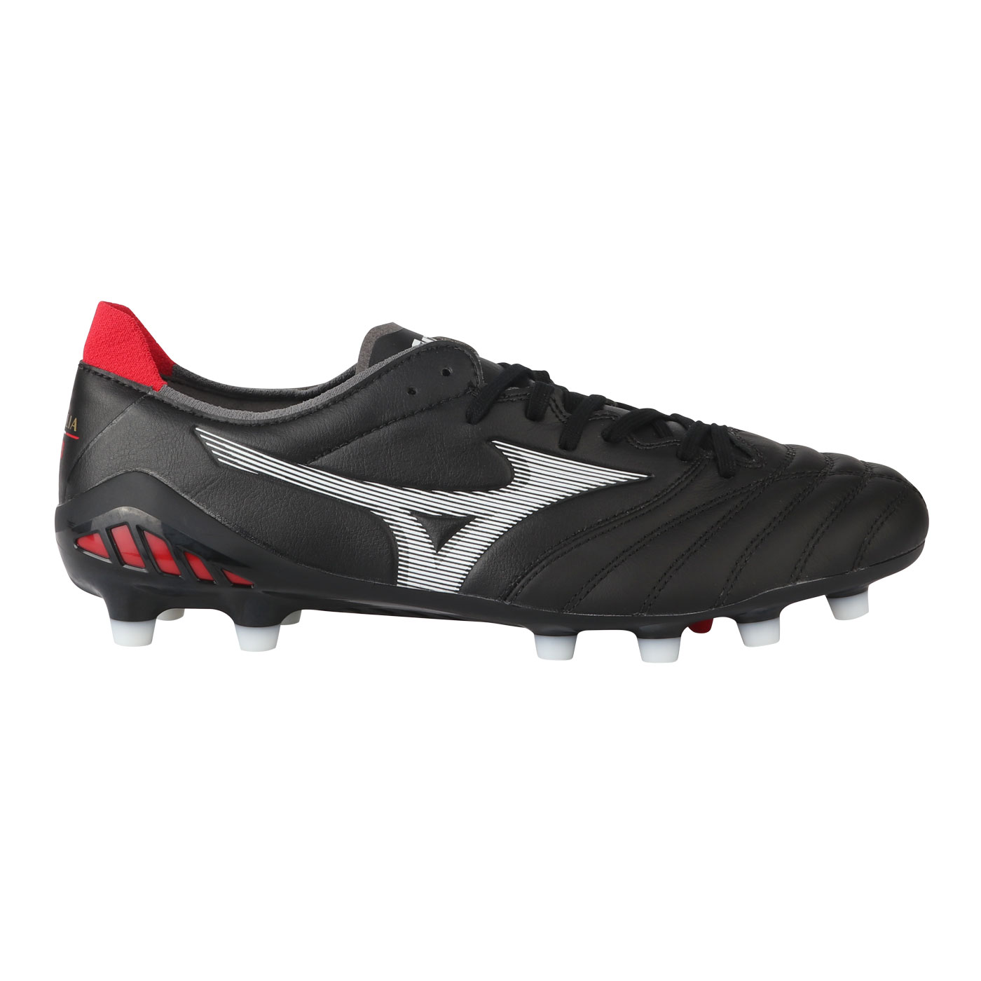 MORELIA NEO III ELITE-BLACK/WHITE/CHINESE RED