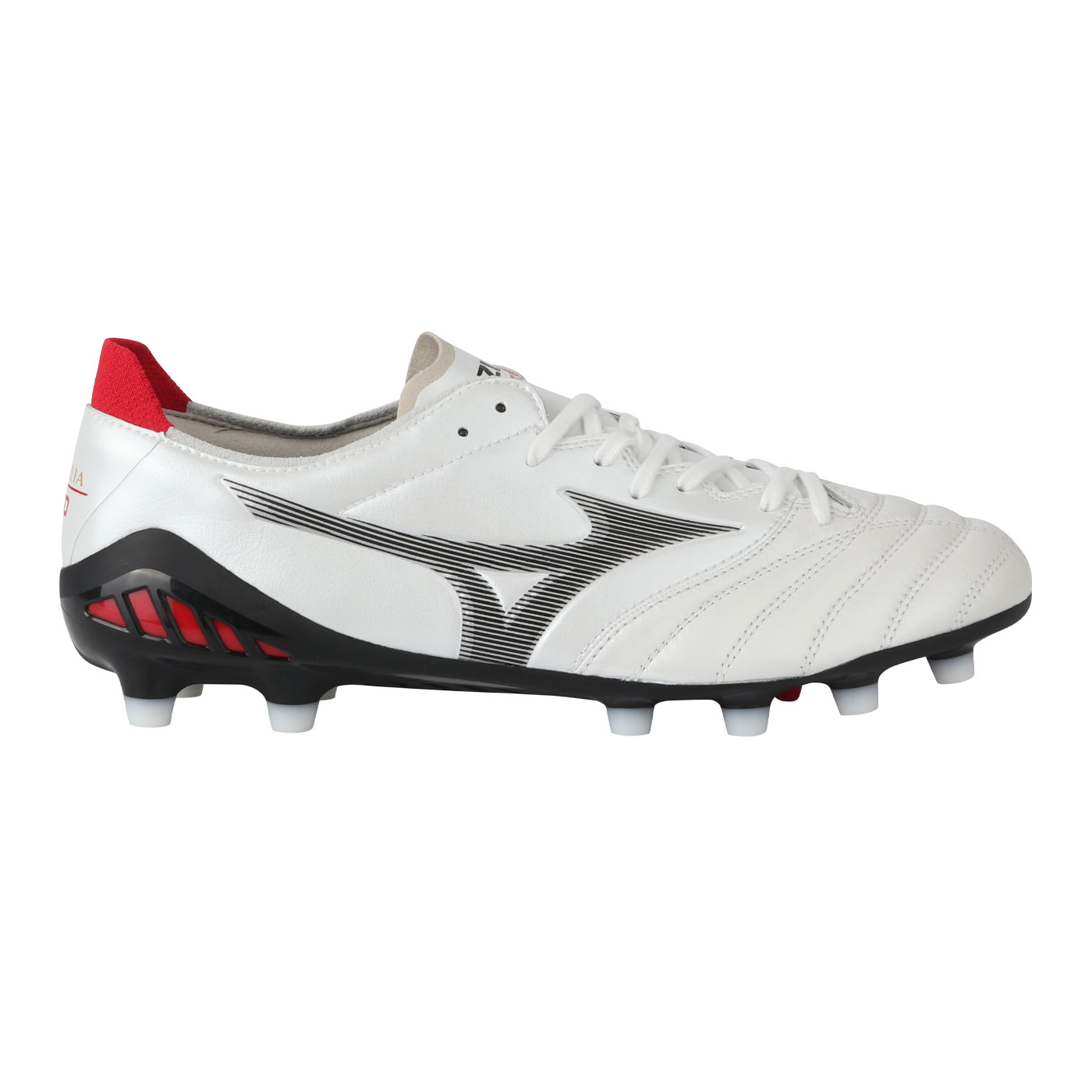 MORELIA NEO III ELITE-WHITE/BLACK/CHINESE RED