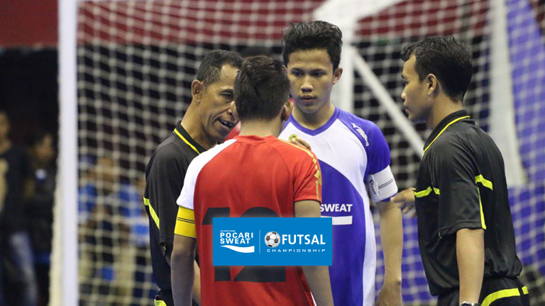 SMAN 18 Bandung Remain Optimistic Organizers of Pocari Sweat Futsal Championship 2016 Prioritize Innovation