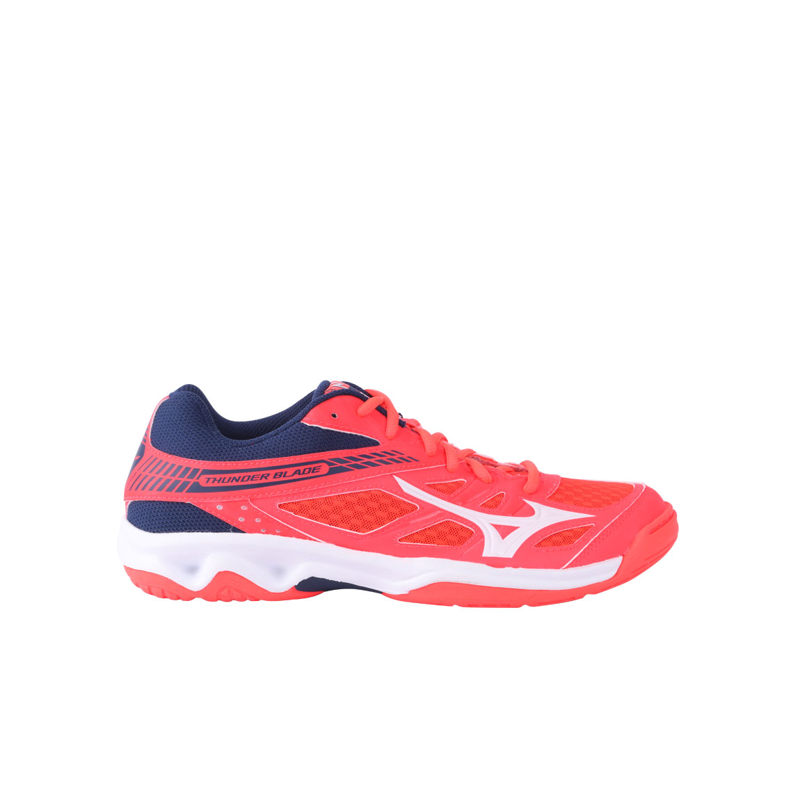 THUNDER BLADE-FIERY CORAL /WHITE/ESTATE BLUE
