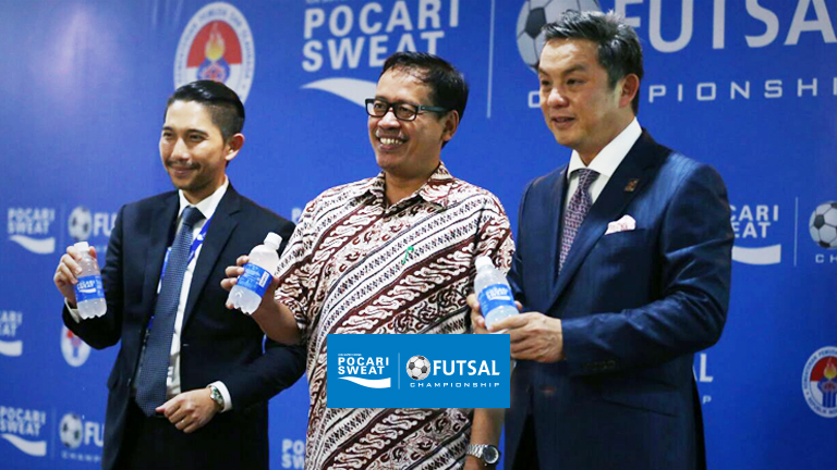 THE MINISTRY OF YOUTH AND SPORTS AFFAIRS WELCOMES WINNERS OF THE GRAND CHAMPION POCARI SWEAT FUTSAL CHAMPIONSHIP