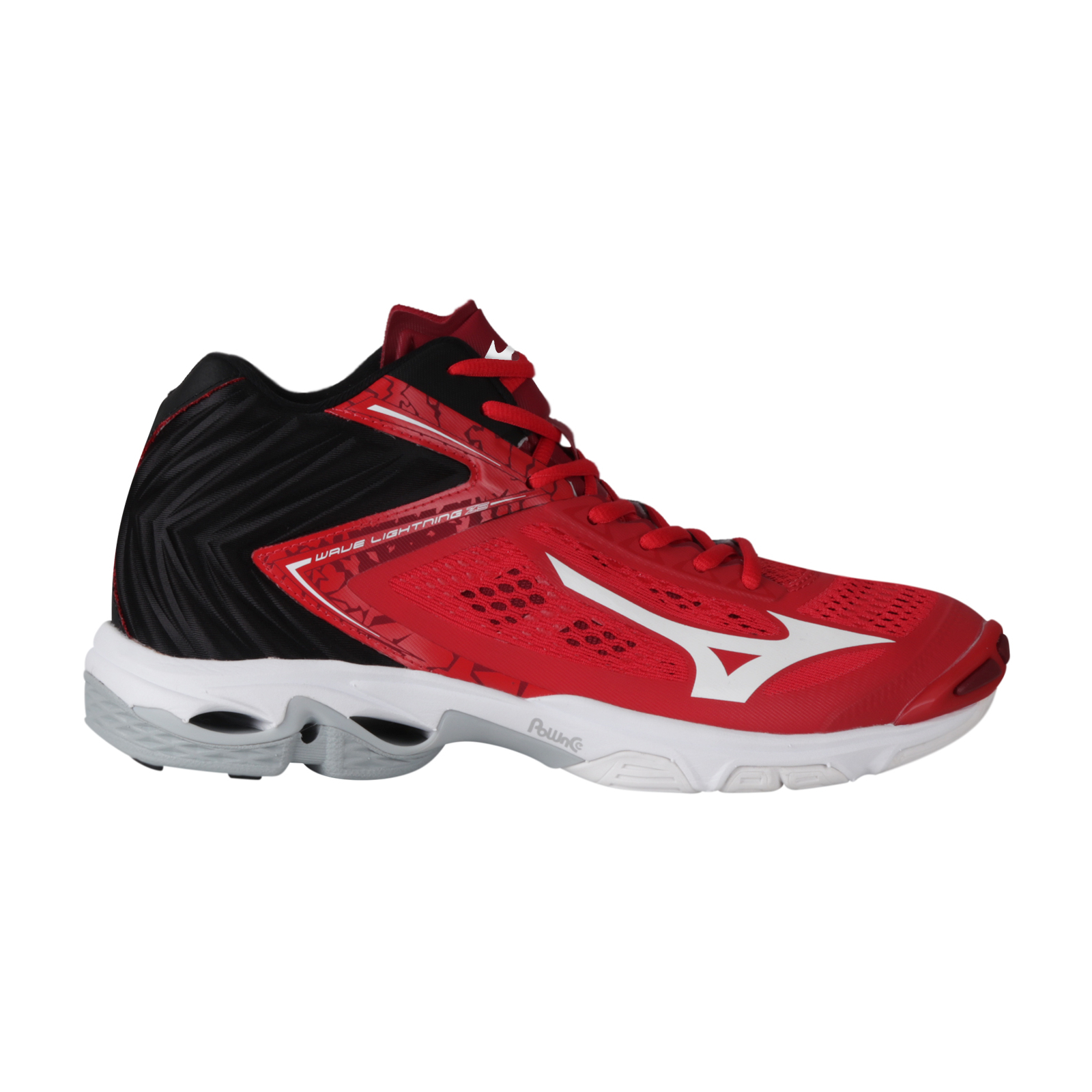 WAVE LIGHTNING Z5 MID - TOMATO/WHITE/BLACK