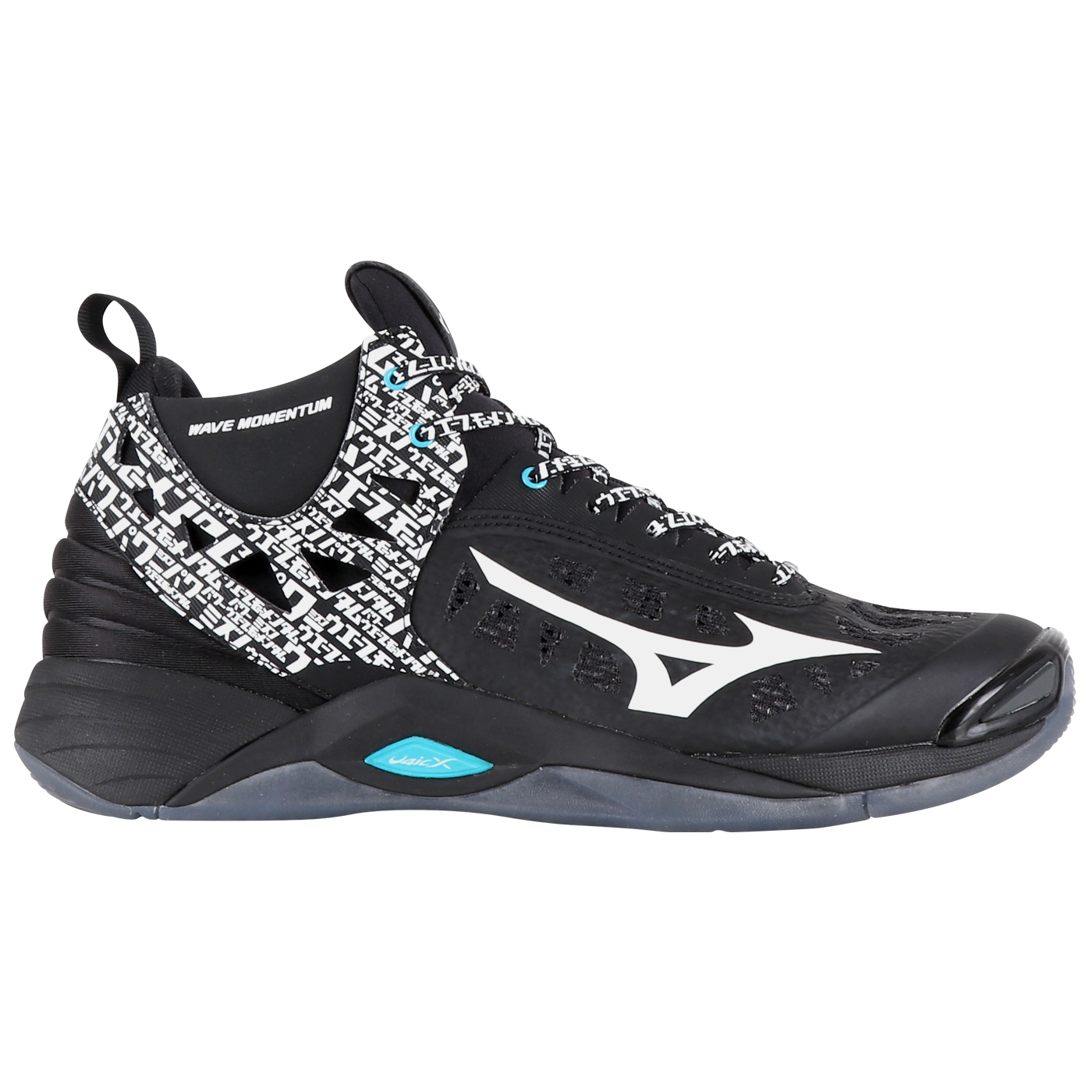 WAVE MOMENTUM MID - BLACK/WHITE/BLUE ATOLL