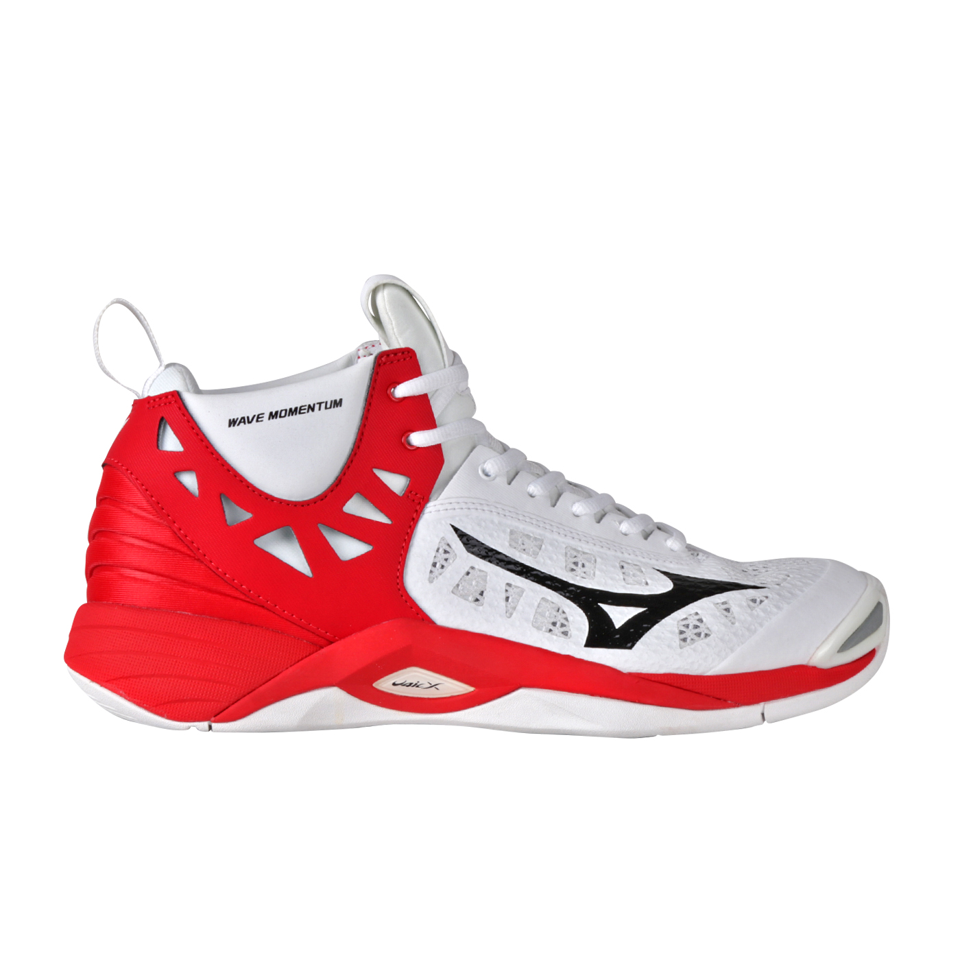 WAVE MOMENTUM MID - WHITE/BLACK/HIGH RISK RED